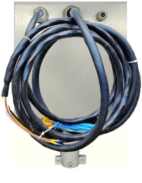 УКП-0-1-С IP54 УХЛ4 с кабельными шлейфами питания и управления